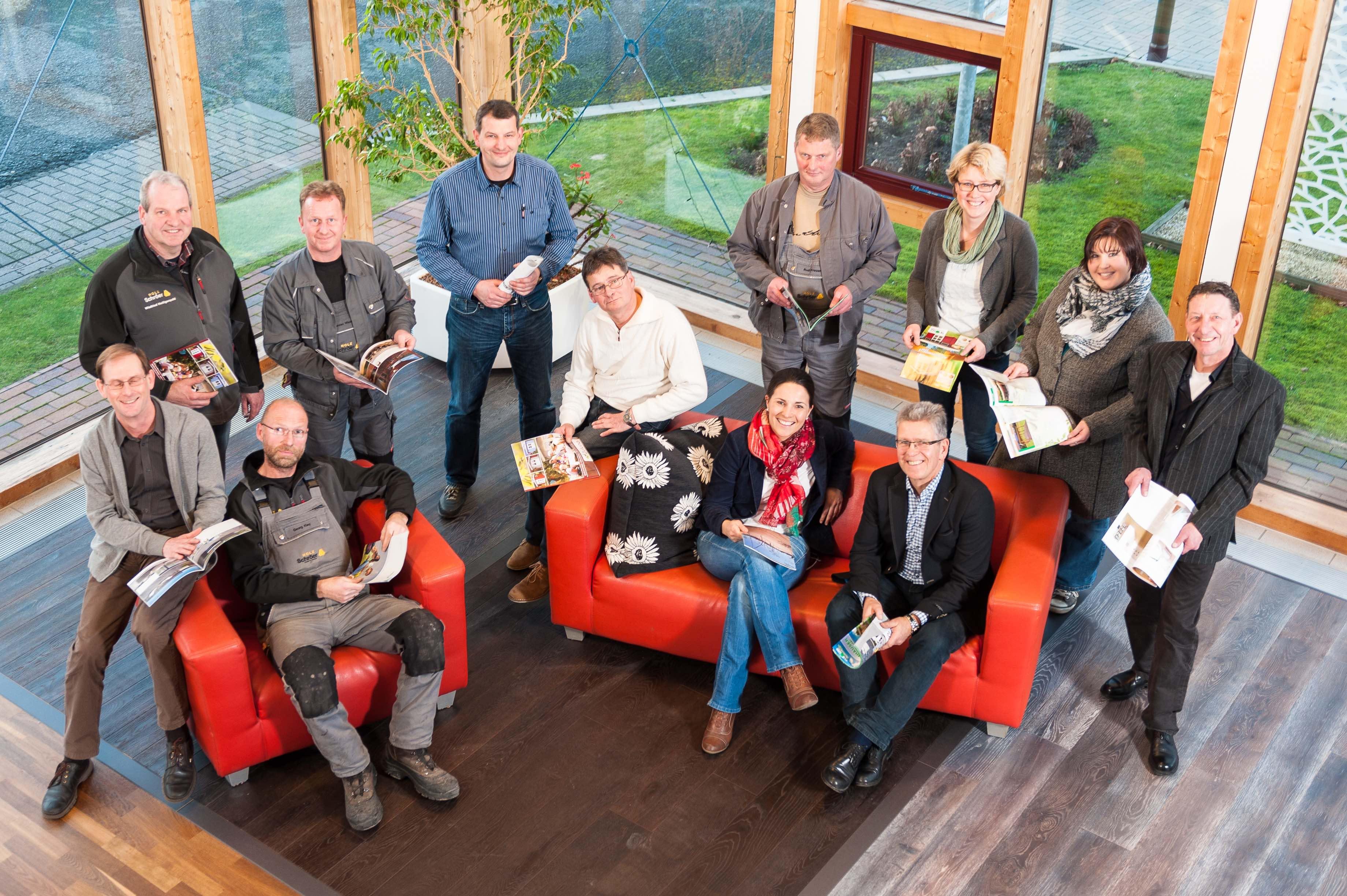 Das Holz-Schröer Team – Holz für Haus und Garten