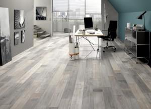 Holz-Schröer - Boden von Avatara-Floor - holzbodenoptik im büro