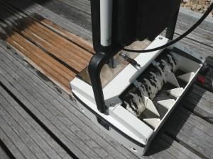 Holzterrassen pflegen - Osmo Holz Reinigung