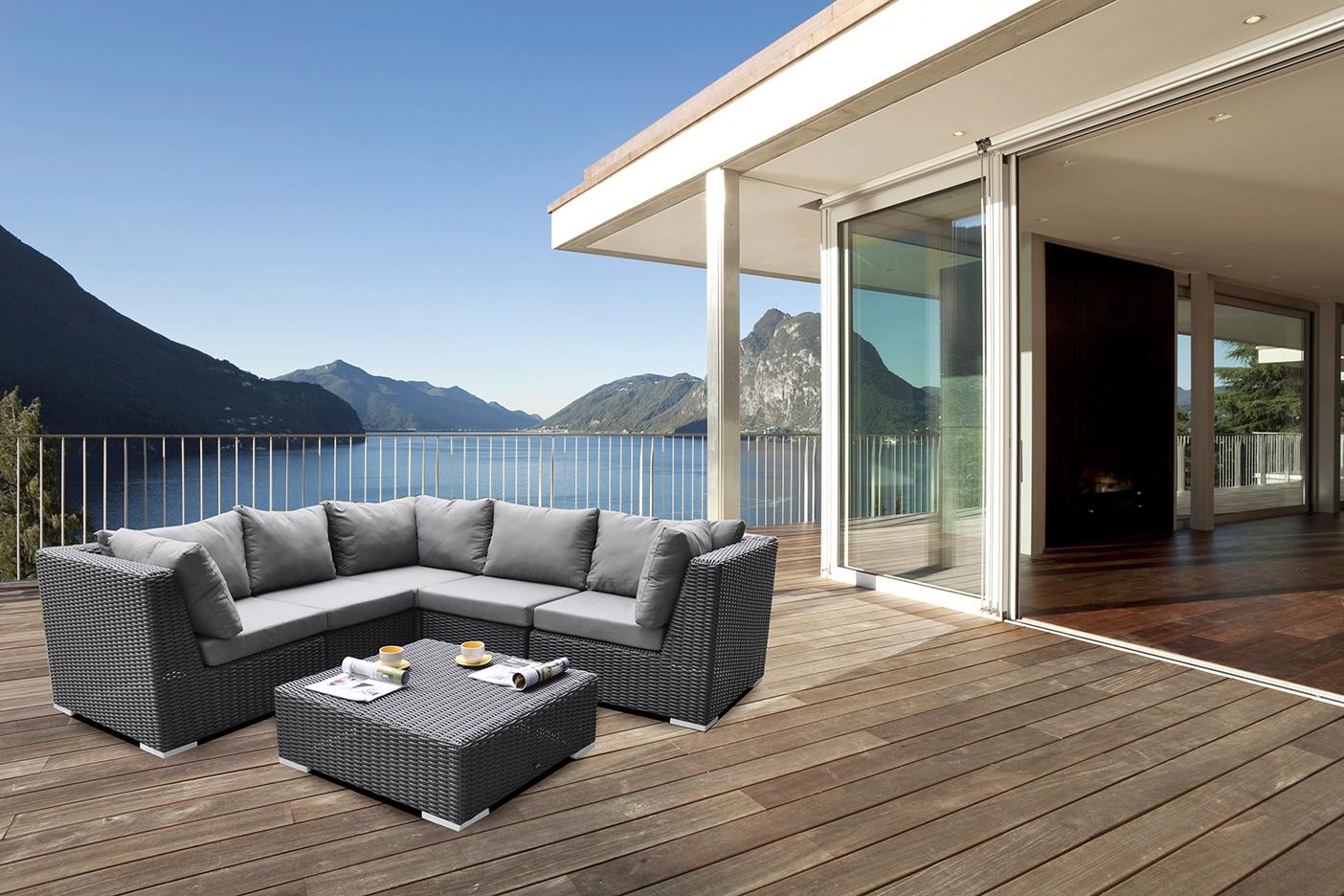 Holz-Schröer Gartenmöbel – Lounge von Zebra zum entspannen
