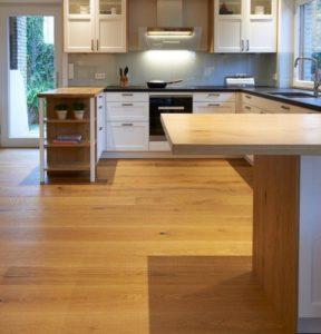 Parkett und Fußbodenheizung bei Holz Schröer