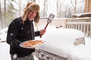 Grillen im Winter – Grillplanks