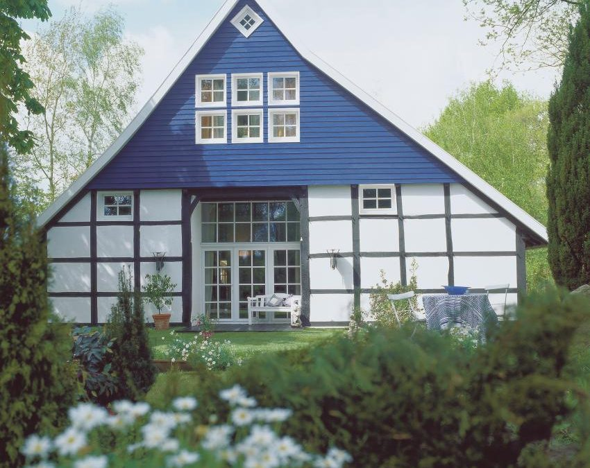 Moderne Holzfassaden liegen im Trend